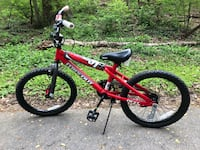 "Black and red BMX 20"" bike Arlington, 22203"