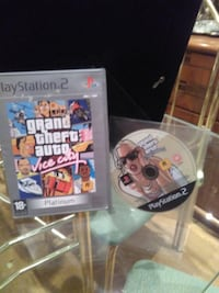 2 JUEGOS Grand Theft Auto San Andreas Y VICE CITY MADRID
