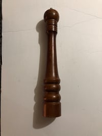 Large wood pepper mill