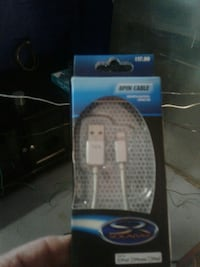 white Spin cable