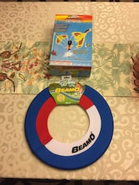 Brand new toys - air rocket and large frisbee  Columbia, 62236
