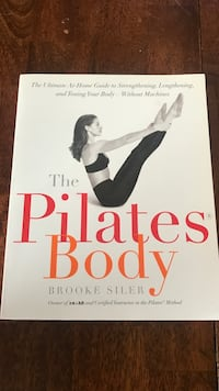 The Pilates Body by Brooke Siler book King, 27045