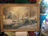 Hayzl Craig Fowler signed oil painting Carmel, 46032
