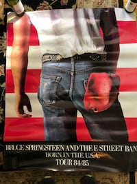 Large Springsteen poster  Westfield, 07090