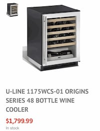 Uline Wine Cooler Miami, 33162