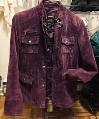 Beautiful Danier purple suede jacket sz small Ottawa, K1J 7V7