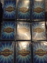 Digimon Cards 124 count mint condition  Baltimore, 21218