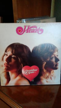 Heart Dreamboat Annie Vinyl Album LP JUPITER