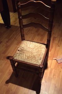 7 High back wooden chairs  Whitby, L1P 1L5