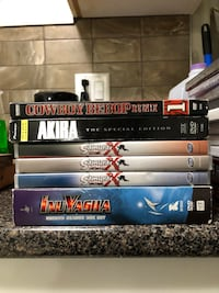 Assorted dvd movie case lot Vancouver, V5N 2W3