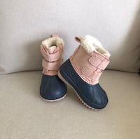 Toddler girl's boots size 5 Mississauga, L5M 0C5
