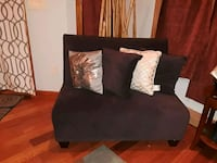 Dark purple armless sofa only  Gaithersburg, 20877