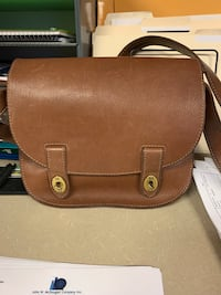 Fossil saddle bag purse/cross body