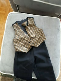 black and brown dress shirt Toronto, M4H 1C7