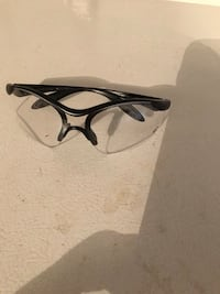 Safety Zorge Black/Clear Glasses