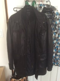 Men's genuine leather jacket size 40 New Tecumseth, L9R