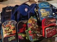 Kids Backpacks and lunch bags lot Vaughan, L4L 3X2
