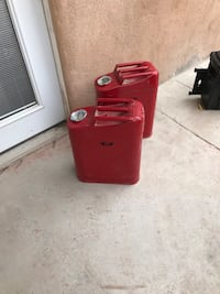 Metal gas can storage containers  Santa Fe, 87505