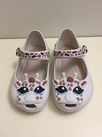 Mini Melissa Giraffe Girl's Shoes size 7 NEW