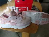 Pink Nike Hurrache Girls toddler size 13 South Bend