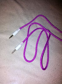 Pink 3 ft stereo wire roped 74 km