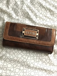 Brown Leather Guess Wallet Toronto, M6C 3V6