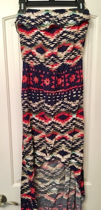 Strapless high low dress. Large Lake Charles, 70601