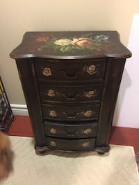 brown wooden 4-drawer chest Coquitlam, V3E 3A5