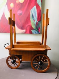 """Vintage wagon. Good for display for vendors/craft shows or home. H18"""" W16""""D8"""" Berea, 44017"""