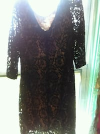 women's black lace long-sleeved dress Pittsburgh, 15216