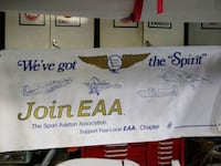 Aircraft Banner for man cave or hanger  Toronto, M4J