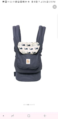 Ergo baby carrier + infant insert Annandale, 22003