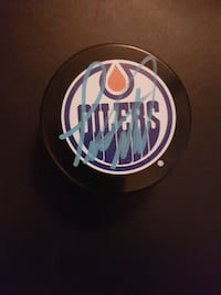 Todd Marchant Autographed Puck For Sale