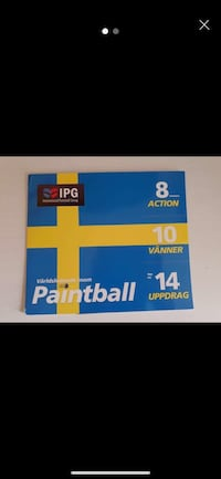 Paintball biljetter  Solna, 169 66