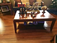 rectangular brown wooden table with four chairs dining set North Miami Beach, 33160