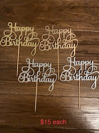 Cake toppers Toronto, M6L 2T6