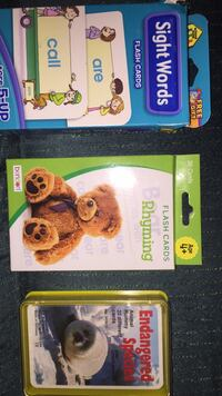 New Flashcards-Sight Words, Rhyming, & Endangered Species Columbia, 21045