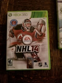 Xbox 360 NHL 15 game case Toronto, M2M 2E4