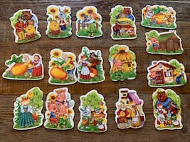 Soft puzzles based on Russian folk tales.