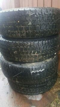 FOUR Goodyear Nordic STUDDED Winter Tires Edmonton, T6L 3P7