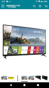 LG Electronics 43UJ6300 43-Inch 4K Ultra HD Smart  Laurel