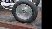 black bullet hole car wheel with tire Schenectady, 12306
