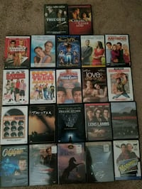 22 Assorted DVD Movies, some still sealed  Boca Raton, 33498