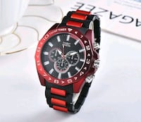 INVICTA  BRAND BLACK RED Men Sport  Rubber Band Men London, N6P 1P6