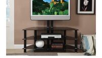Stand for the tv with the metal rack for te tv. $160 new in ox