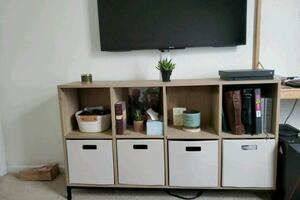 "60"" Cube Storage Bookcase"