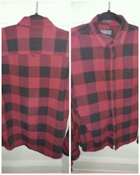 Jack & Jones mens flannel check shir Mississauga, L5E 1V4