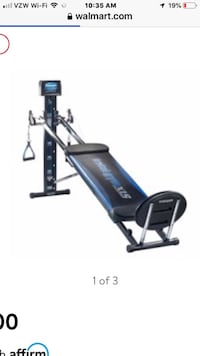 Total Gym XLS Like new! Excellent cond. with attachments and 7 DVD's