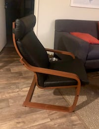 black and brown wooden armchair San Marcos, 92069