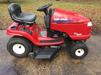 red and black Craftsman ride on lawn mower Slidell, 70460
